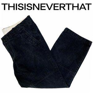 thisisneverthat 2014 NAVY/STUDY Denim Chino Pants